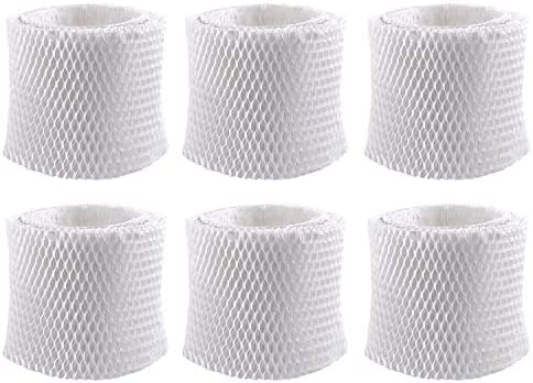 6 Pack Replacement Humidifier Filter for Vicks Kaz WF2 Cool Warm Mist Humidifier V3100 V3500 product image