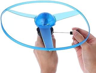 3pcs soucoupe volante Lanceur Set Volant Coloré Tireur jouets pour enfants