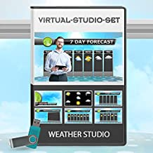 $74 » Weather Video Production Package - Virtual News set Background Kit