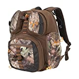 Gear Fit Pursuit Bruiser Deer Hunting Treestand Backpack Pack by Allen, Bow/Rifle Carry System, Purpose-Built, 18 L x 14.5 W x 8.5 H inches, Brown/Mossy Oak Break-Up Country Camo