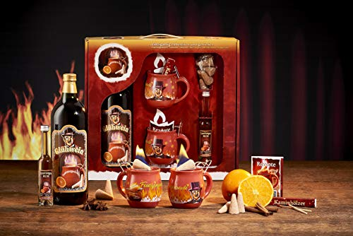 Feuerzangentasse Geschenkset, Klassisch, Terracotta/Rühmann - für Feuerzangenbowle