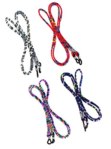 4 Pieces Eyeglass Strap Eyeglass Chain Eyewear Cord Holder Lanyard Strap