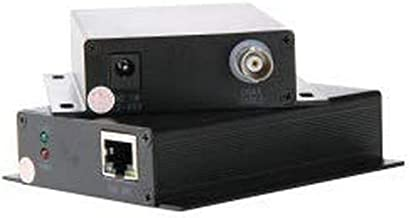 Triplett GEM Power Over Coax Single-Channel Transmitter with PoE Support (POC-1TYNPOE)