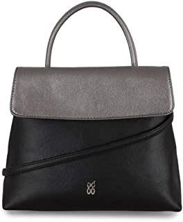 Baggit Women's Messenger Bag (Black)
