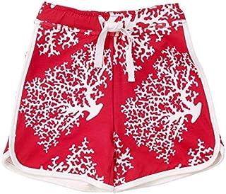 Masala Kids Little Boys Swim Shorts Sea Coral 2Y [並行輸入品]