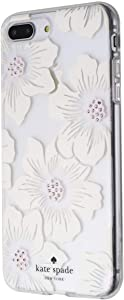 Kate Spade New York Hardshell Case for Apple iPhone 8 Plus/7 Plus - White/Floral