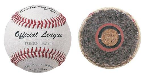 Champion One (1) OLBXX Double Cushion Cork Core Leather Baseball [Misc.]
