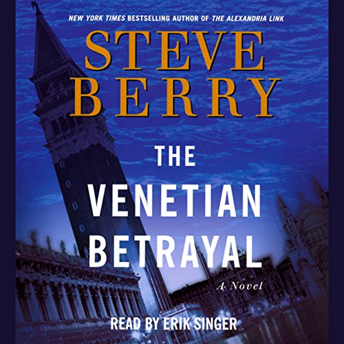 The Venetian Betrayal audiobook cover art