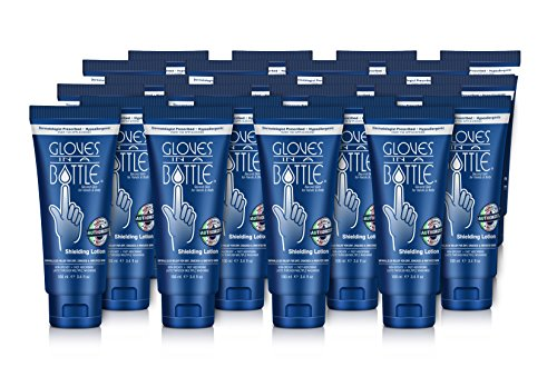 Gloves In A Bottle Shielding Lotion for Hands and Body, 3.4 Ounce (Pack of 24)
