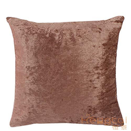 N/F Ice Velvet Autumn Winter Elegant Pillowcase Home Soft Pillow Sofa Bedroom