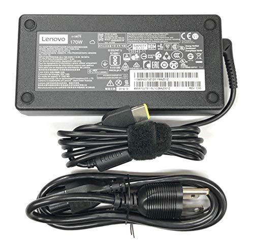 enovo 20V 8.5A 170W Slim Tip AC Adapter For Lenovo ThinkPad W540 W550s P50 P50S P70 E440 E450 E555 S431 T440 T540p X240 X250 Yoga 15;Legion Y720 Ideapad Y720-15IKB ADL170NLC2A ADL170NDC2A ADL170NLC3A