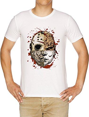 Horror TRITURAR Camiseta Hombre Blanco