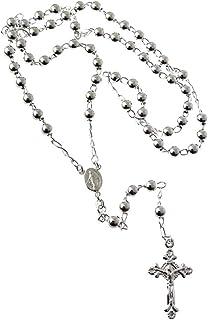 GTBITALY 90.111.30 Anillo rosario de dedo di/ámetro 17 mm plata