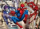 20033 - Clementoni Magic 3D Puzzle, 104 Teile - Spiderman between Morbius & Carnage, 104 Teile