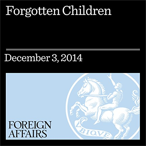 Forgotten Children audiobook cover art