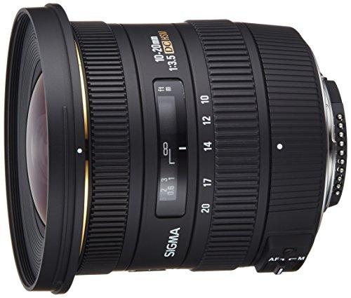Sigma 10-20 mm F3,5 EX DC HSM-Objektiv (82 mm Filtergewinde, für Nikon Objektivbajonett)