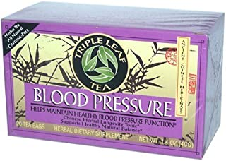 Triple Leaf Tea Blood Pressure - 20 Tea Bags (Pack of 6)