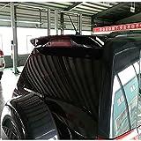 XIAOBI Alerón Trasero Material Abs Alerón Trasero Color Alerón Trasero Adecuado para Suzuki Vitara 2009-2013, Negro