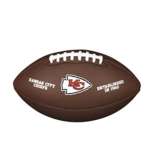 WILSON NFL Team Logo Composite Fußball, Kansas City Chiefs, Official
