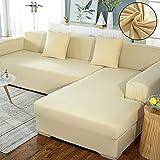 RXMCFKR Fundas de sofá de poliéster de alta elasticidad,...