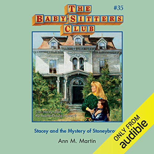 Stacey and the Mystery of Stoneybrook audiobook cover art