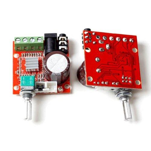 『Mini Hi-Fi ミニ ハイファイ PAM8610 オーディオ ステレオ アンプ 2×10W デュアル チャネルD クラス モジュール』のトップ画像