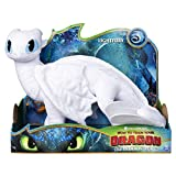Dreamworks Dragons Lightfury, 14' Deluxe Plush Dragon, for Kids Aged 4 & Up, Multicolor