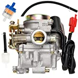 HIAORS GY6 50cc Carburetor PD18 Carb for GY6 49cc 50cc 139QMB Four Stroke Chinese Scooter Moped Taotao Lance Eagle Tank Urban VIP Future Champion Kymco Parts