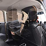 Desirable 車内 パーテーション 飛沫ブロック 車向け 飛沫防止用 透明 アクリル板 2枚1セット
