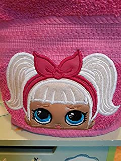 Doll Face Hooded Towel, Surprise Doll, LOL Doll