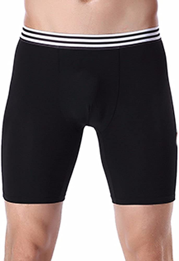Trunks Mens GREFER Solid Modal Bulge Pouch Underwear Cooling Underpants Boxer Briefs