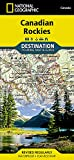 Canadian Rockies (National Geographic Destination Map)
