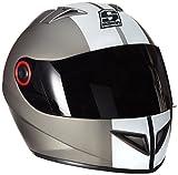 """Soxon ST-666 """"Deluxe Titan"""" Integral-Helm Full-Face Motorrad-Helm Roller-Helm Scooter-Helm..."""