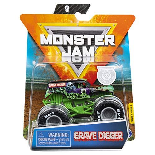 Monster Jam 2020 Spin Master 1:64 Diecast Monster Truck con muñequera: Legacy Trucks Grave Digger