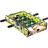"Maxstore Mini-Tisch-Kicker Tischfussball ""Dundee"", Soccer Dekor, Maße: 51x31x8 cm, Gewicht: 2,6..."