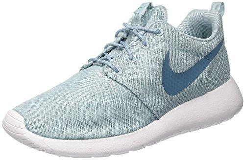 Nike Roshe One, Mens Trainers, Blue (Mica Blue/Smokey Blue/Stadium Green/White), 8.5 (43 EU)