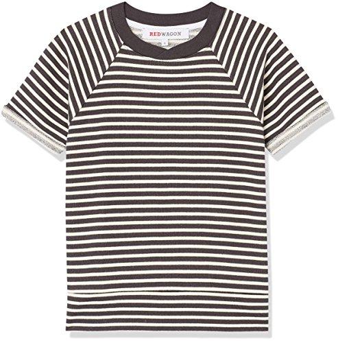 Marca Amazon - RED WAGON Camiseta Rayas Niños, Beige (Ivory), 110, Label:5 Years