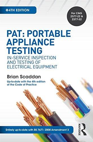 PAT: Portable Appliance Testing:...