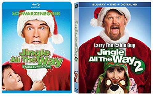 Jingle All the Way (Family Fun Edition) 1 & 2 Bundle