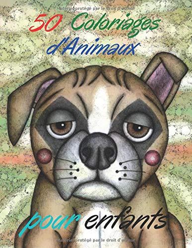 50 coloriages d'animaux pour enfants PDF Books