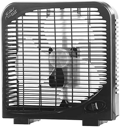 Sichler Haushaltsgeräte Mini Ventilator: Kompakter Tischventilator mit 2 Geschwindigkeiten, 28 W, Ø 20 cm (Fan)