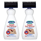 Dr Beckmann 2 X Carpet Stain Remover with Cleaning applicator/brush-650ml, White, 650ml