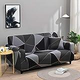 WXQY Fundas de Spandex para sofá para Sala de Estar, Funda elástica para sofá, Fundas para sillón, Protector de Muebles A23, 4 plazas