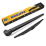 Rear Wiper Arm Blade, Replacement for Audi Q7 2006-2015 - MIKKUPPA Back Windshield Wiper Assembly Replacement - All Season Natural Rubber Cleaning Window
