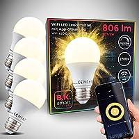 B.K.Licht I 4er Set LED