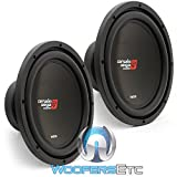 (2) XED12 - Cerwin Vega 12' 1000W Single 4-Ohm XED Series Subwoofer