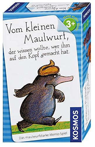 KOSMOS 711283 - Vom kleinen Maulwurf, der wissen wollte, wer ihm auf den Kopf gemacht hat, Memo-Spiel als Mitbringspiel