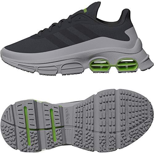 Adidas QUADCUBE J, Zapatillas Running Unisex Infantil, Gris (Grey Six/Grey Six/Light Granite), 38 2/3 EU