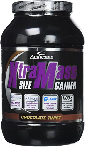 Anderson Research IAF00086990 Xtra Mass Size Gainer, 1100 g, Cioccolato