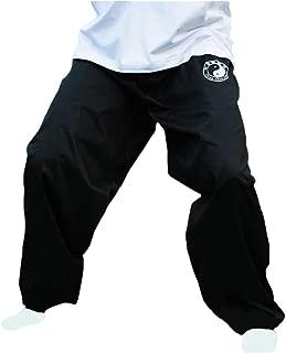 ZooBoo Chenjiagou Taichi Lantern Pants - Practice Uniforms Tai chi Clothing Black Cotton Cloth Martial Arts Practice Pants